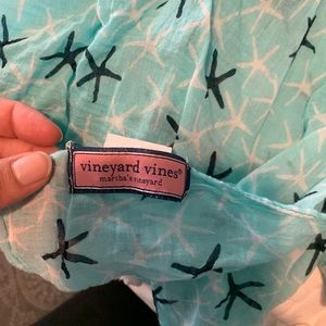 Vineyard vines sarong/ beach cover up/scarf